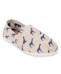 One Friday Animal Printed Shoes - Beige