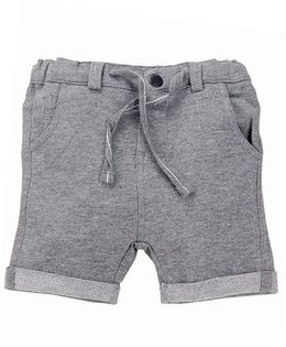 Fox Baby Shorts - Dark Melange