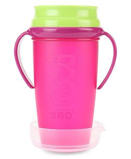 Lovi 360 Degree Cup Pink - 350 ml