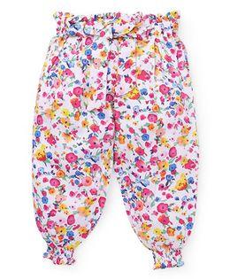 Vitamins Pants Floral Print - Multi Color