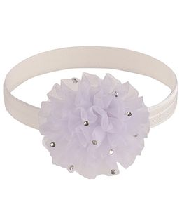 Little Cuddle Flower Headband - White