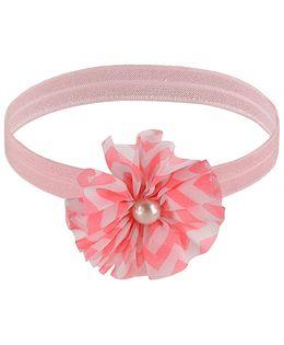 Little Cuddle Flower Design Headband - Pink