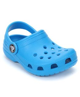 Crocs Clogs With Back Strap - Ocean Blue