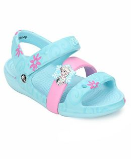 Crocs Keeley Disney Frozen Fever Sandal - Ice Blue