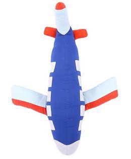 Hugsntugs Aeroplane Cushion - Blue