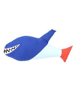 Hugsntugs Shark Cushion - Blue