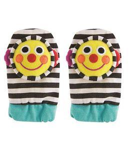 Sassy Smiley Face Foot Socks Rattle