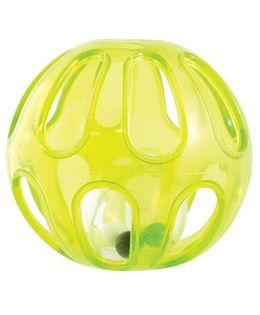 Sassy Squish & Rattle Ball - Yellow
