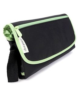 The First Years Deluxe Fold'n Go Diapering Kit - Black Green