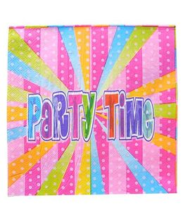 Shopaparty 2 Pieces Disco Party Paper Napkins - Pink