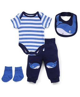 Luvena Fortuna Boys 4Pc Set - Blue