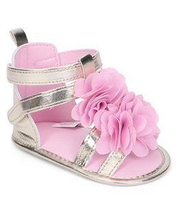 Luvable Friends Flower Gladiator Sandal - Pink
