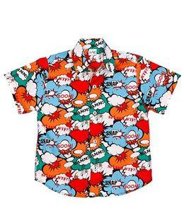 Raghav Snap Printed Shirt - Multicolour