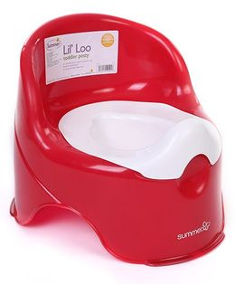 Summer Infant Lil Loo Toddler Potty Seat - Red