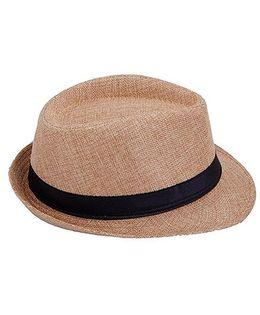Kidofash Fedora Hat - Beige