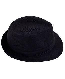 Kidofash Fedora Hat - Black
