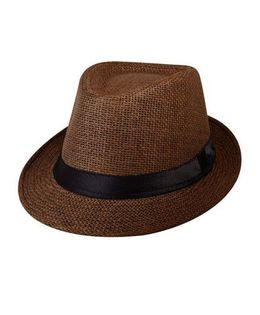 Kidofash Fedora Hat - Dark Brown