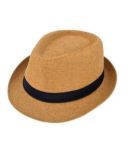 Kidofash Fedora Hat - Brown