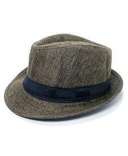 Kidofash Fedora Hat - Dark Green