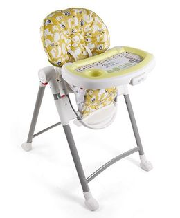 Graco Contempo High Chair - Light Yellow White