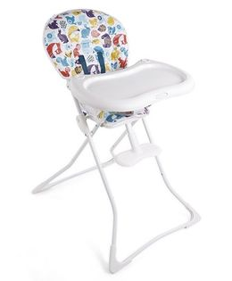 Graco Tea Time Into The Woods High Chair - White
