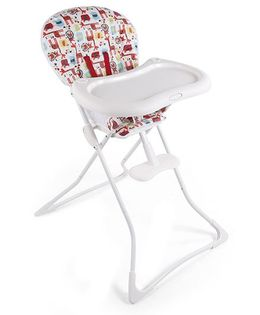 Graco High Chair Tea Time Day Out - White & Multicolor