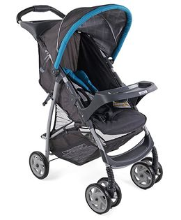 Graco Literider Finch Stroller - Blue Black