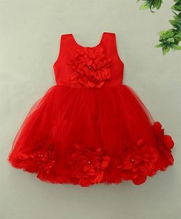 M'Princess Elegant Party Dress - Red