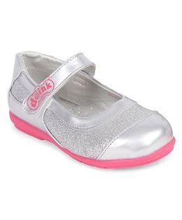 Doink Party Wear Bellies With Glittery Shine - Silver