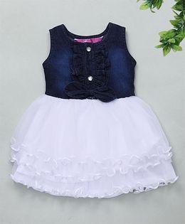 M'Princess Elegant Party Dress - White