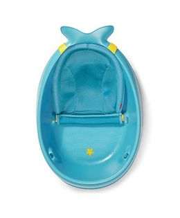 Skip Hop Moby Bath Smart Sling 3-Stage Bathtub - Blue