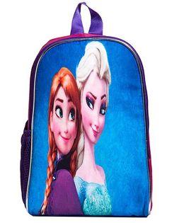 Li'Ll Pumpkins Princess Printed School Bag - Pink & Blue
