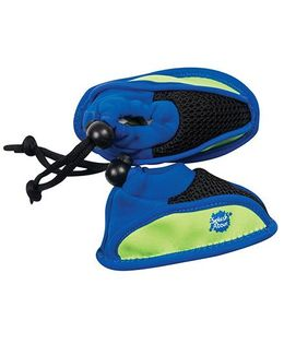Splash About Non Slip Swimming Shoe - Lime & Blue