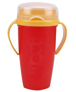 Lovi 360 Cup With Handles Active Red - 350 ml