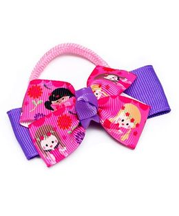 Ribbon Candy Fairy Hair Tie - Pink Purple