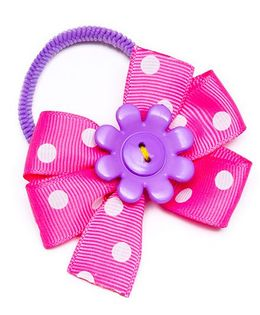 Ribbon Candy Cute Hair Tie - Pink Purple