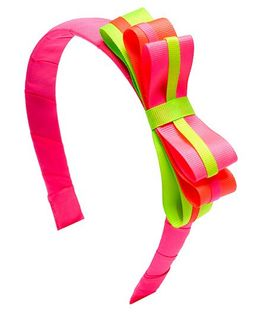 Ribbon Candy Loopy Hairband - Pink