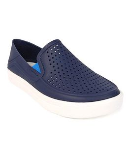 Crocs Slip On Clogs - Navy Blue