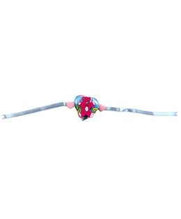 Thought Counts Teddy On Heart Rakhi - Pink