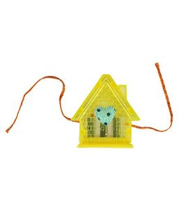 Thought Counts Home Sweet Home Rakhi - Yellow