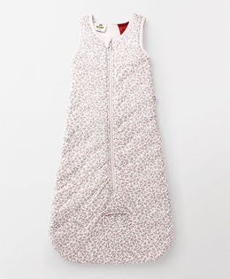 Tiny Bee Printed Sleeping Bag - Pink