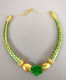 Tiny Closet Necklace - Green