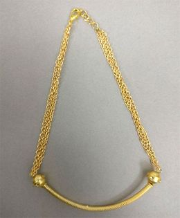 Tiny Closet Stone Necklace - Golden