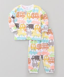 ToffyHouse Full Sleeves Night Suit  Printed 24M-36M