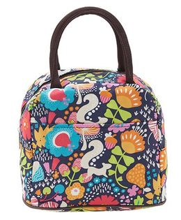 EZ Life Squirrel Print Lunch Box Bag - Multicolour