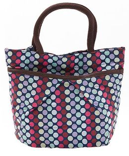 EZ Life Trendy Polka Dot Carry Bag - Pink
