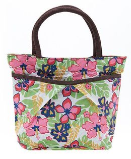 EZ Life Trendy Printed Carry Bag - Green