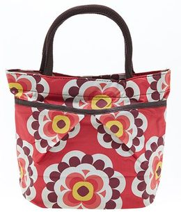 EZ Life Trendy Floral Carry Bag - Red