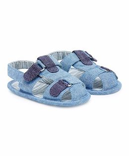 Mothercare Sandal Style Booties - Blue