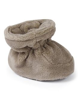 Mothercare Slip On Style Booties - Brown